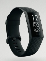 (d)血中酸素飽和度の変化を推定できる「Fitbit Charge 4」
