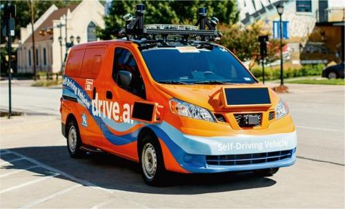 図8 Appleが買収したDrive.aiの自動運転車
