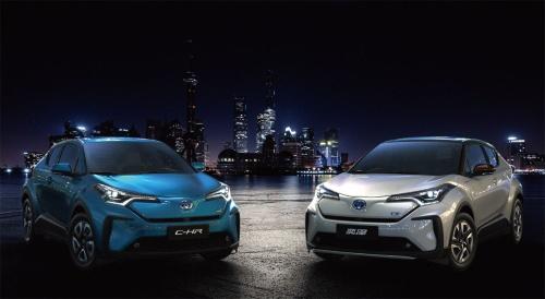 図1 トヨタが2020年に中国市場で発売予定のEV