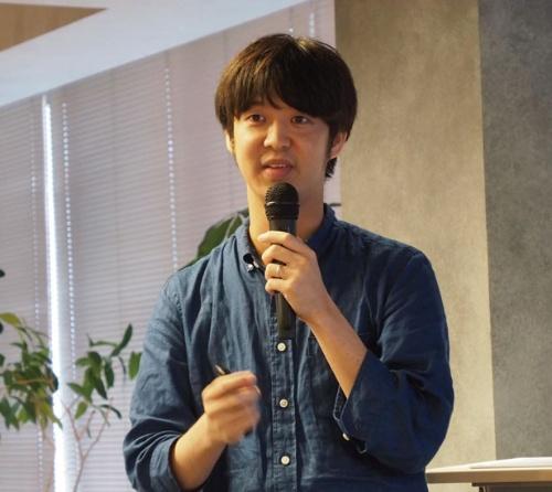 図2 inaho代表取締役COOの大山宗哉氏