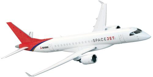 図1 小型ジェット旅客機「三菱スペースジェット」