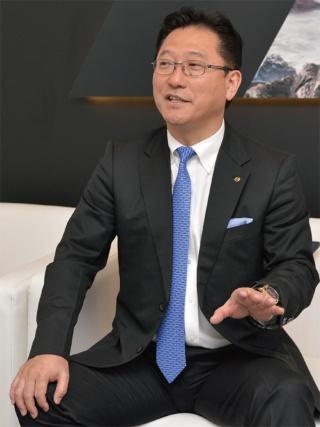 図2 日産を退社して日本電産に入社した関潤氏