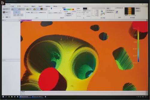 図1 XTIAの光コム技術を使った3D測定装置