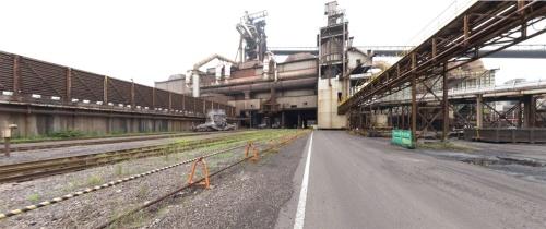 JFEスチール東日本製鉄所京浜地区の第2高炉