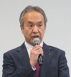 図2 三菱重工業取締役社長の泉澤清次氏