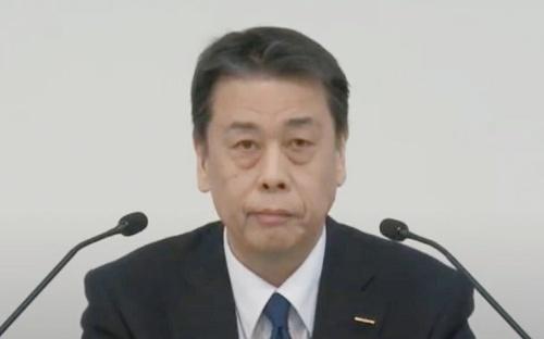 図1 日産自動車社長兼CEOの内田誠氏