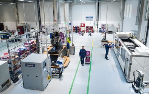 図1 BMWグループが新たに開設したアディティブ製造の拠点「Additive Manufacturing Campus」