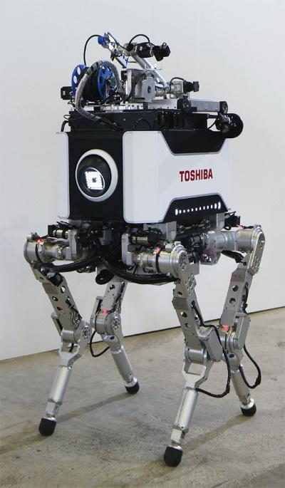 図1 東芝の「4足歩行ロボット」