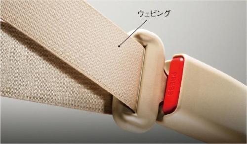図1 品質不正が発覚したJSSJのシートベルト