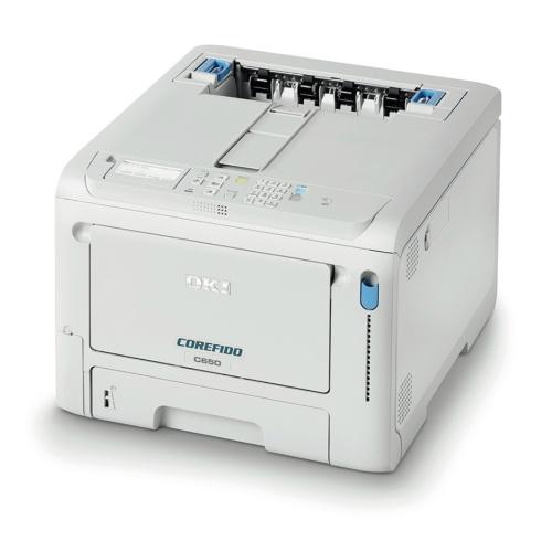 図2 OKIデータの新型カラープリンター「COREFIDO C650dnw」
