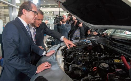 図1 VWを揺るがしたディーゼルエンジン排ガス不正