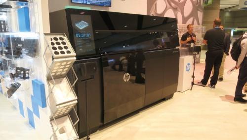 図2 HPが発表した3Dプリンター「HP Metal Jet」