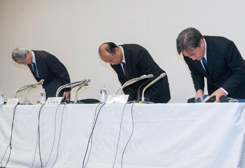 図1 12月4日に都内で開かれた記者会見の様子