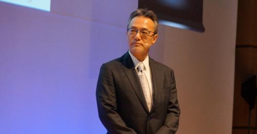 写真:DMG森精機の川島昭彦専務執行役員が日本マイクロソフトのイベントで発表した