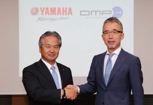 図1 資本業務提携したヤマハ発動機とDMP