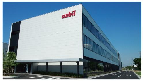 図1 アズビル湘南工場の新事務棟(A棟)