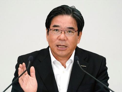 図1 日産自動車副社長の坂本秀行氏