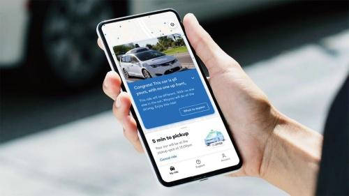 図2 Waymoは無人運転の配車サービスを実用化している