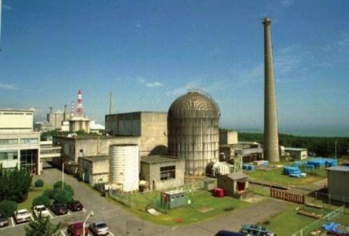 図1 動力試験炉「JPDR(Japan Power Demonstration Reactor)」