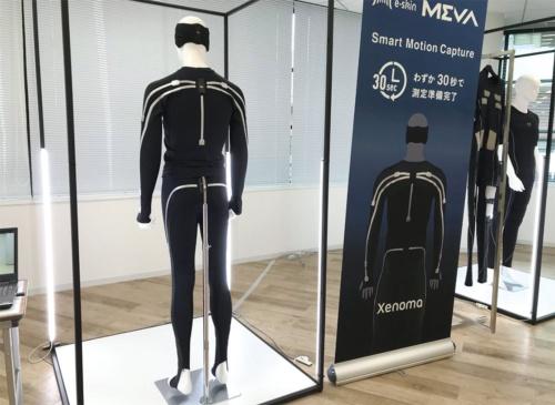 図1 モーションキャプチャースーツ「e-skin MEVA」