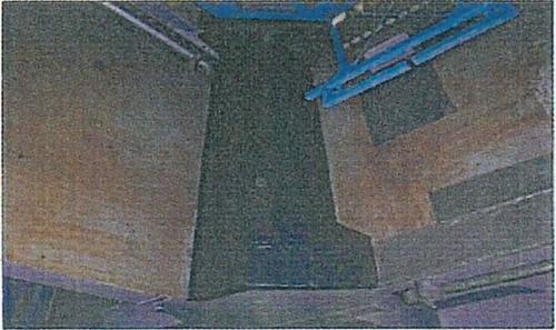 図3 耐熱材の施工部