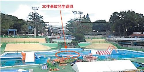 図1 事故が発生した水上遊戯施設