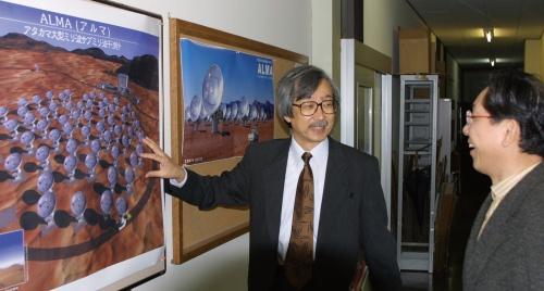 図2 石黒正人さん(国立天文台名誉教授)