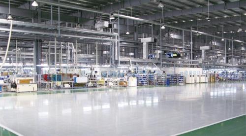図1 インド工場の内部