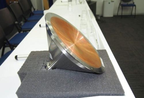図3 衝突装置(SCI)の爆発部