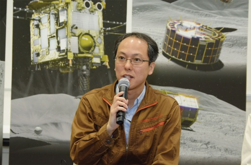 図1 「はやぶさ2」プロジェクトチームプロジェクトマネージャの津田雄一氏
