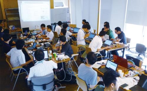 図1 ファクトリー・サイエンティスト育成講座(2019年8月開催)