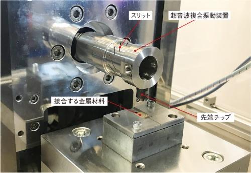 図2 超音波複合振動装置の外観