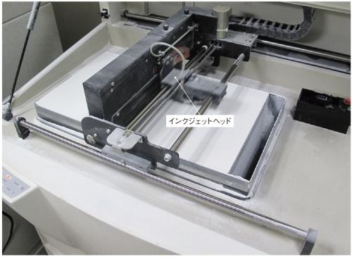 図1 結合剤噴射法のアディティブ製造装置