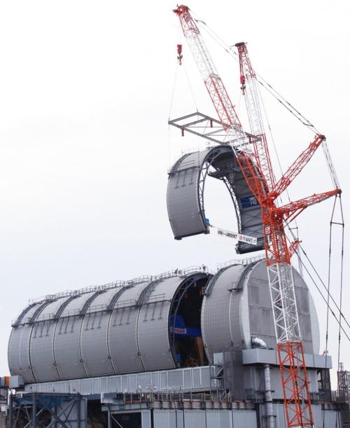 図1 3号機原子炉建屋の上部