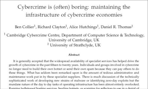 図1●サイバー犯罪は「退屈な職業」