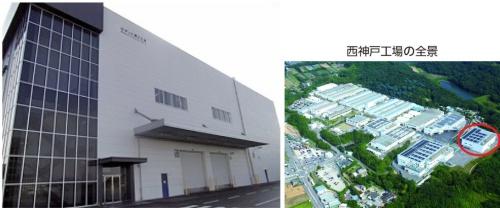 図1 操縦型システムを本格導入した西神戸工場