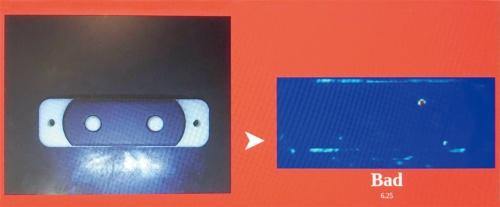 図1 PFNのディープラーニング外観検査システムの実演の様子