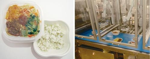 図1 セブンイレブン向け弁当の製造にロボット導入
