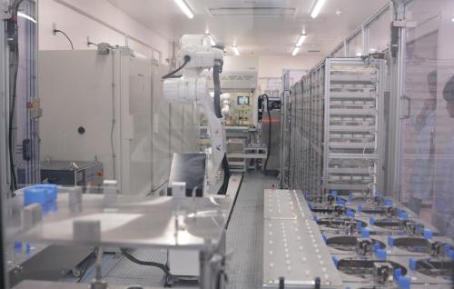 図1 全農家畜衛生研究所クリニックセンターが採卵鶏農場向けのサルモネラ菌の検査に使っている設備