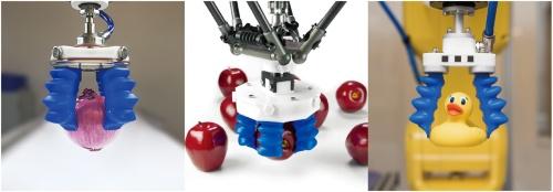 図1 Soft Robotics社のグリッパの例