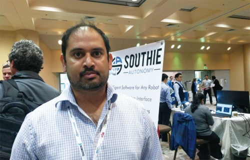 図2 CEOのRahul Chipalkatty(ラフール・チパルカティ)氏