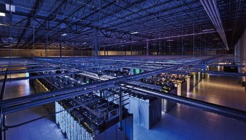 図1 グーグルのデータセンターの様子