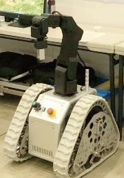 図1 リコーが自社開発しているハイブリット型ロボット