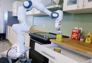 シアトルのロボット研究所にある移動マニピュレータロボット