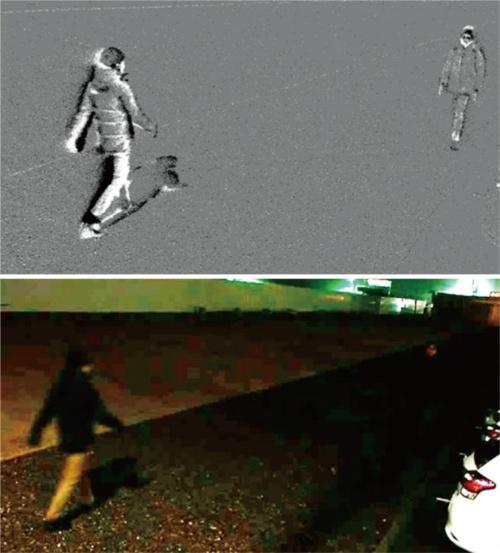 図1 イベント駆動型カメラによる撮影画像の例