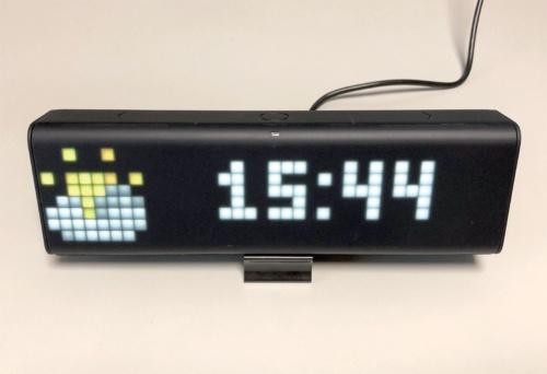 写真2●時計表示モード