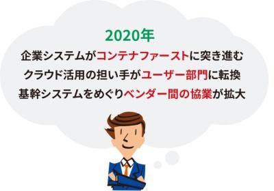 図1●2020年のクラウド3大予測