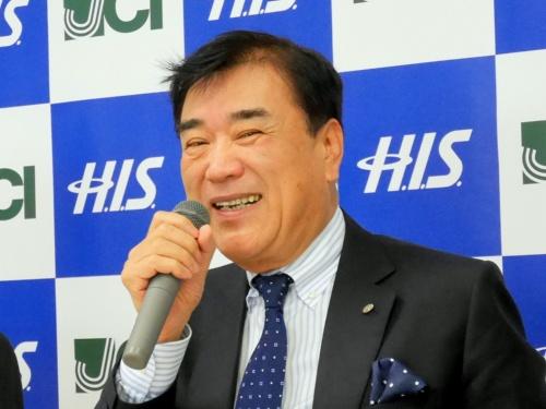 エイチ・アイ・エスの沢田秀雄代表取締役会長兼社長