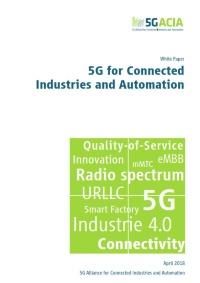 ホワイトペーパー「5G for Connected Industries and Automation」