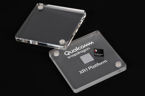 新製品のイメージ。Qualcommの写真
